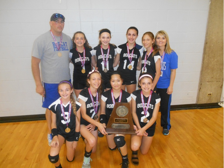 T.A.A.F. 2015 Girls 12 & Under State Volleyball Runner-up