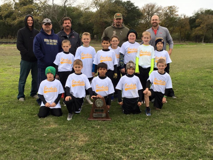 2015 TAAF 8 & Under State Flag Football Fourth Place
