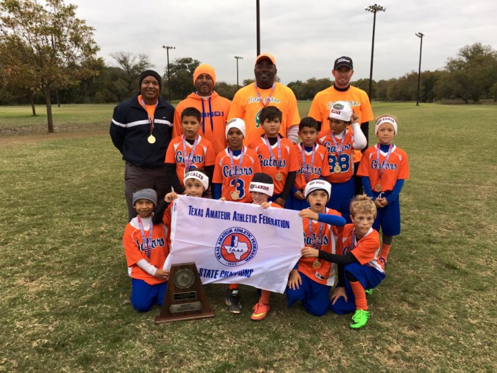 2015 TAAF 8 & Under State Flag Football Champions