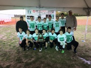 2015 TAAF 12 & Under State Flag Football Fourth Place